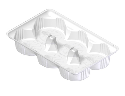 Упаковка для маффинов KP-164